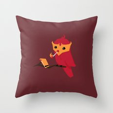 Accidental Legends: Phoenix Throw Pillow
