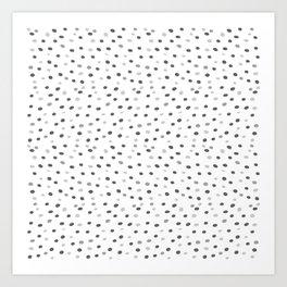 Abstract pattern: dots Art Print