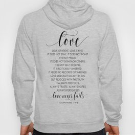 DEFINITION OF LOVE, Love Is Patient Love Is Kind,Love Quote,Love Art,Love Gift,Darling Gift,Love you Hoody