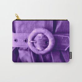 Purple Vintage Belt Carry-All Pouch