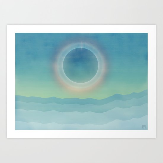 Eclipse 2 Art Print