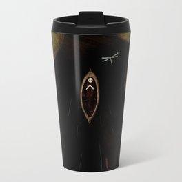 black lake Metal Travel Mug