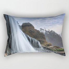 Hug Point Falls Rectangular Pillow