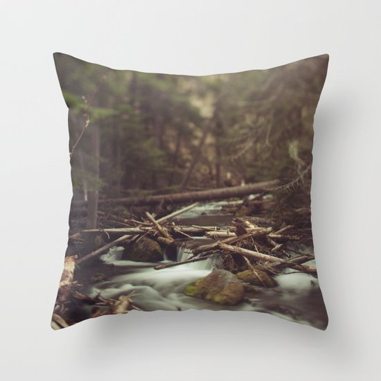 Cold Spring Creek Throw Pillow