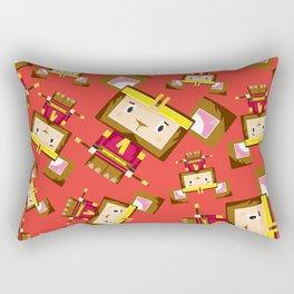 Cute Sun Wukong The Monkey King Rectangular Pillow