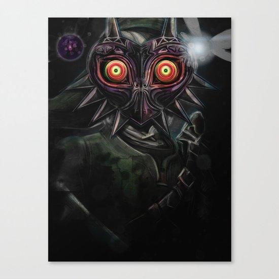 Legend of Zelda Majora's Mask Link Canvas Print