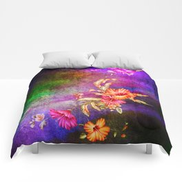 flowers cp Comforters