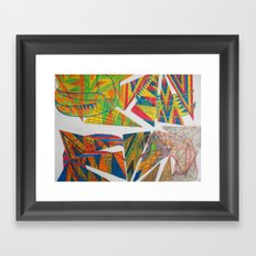 Decay of Tucan Framed Art Print