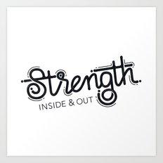 Strength Art Print
