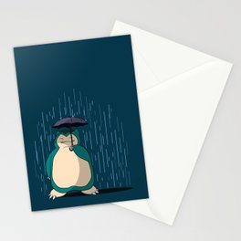 My Neighbor Snorlax Stationery Cards