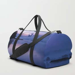Tranquil blue nature Duffle Bag