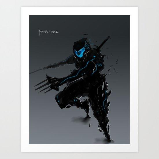 Shinobi Daggerfall Art Print
