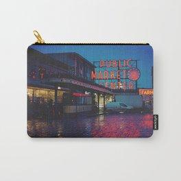 Seattle Public Market Carry-All Pouch