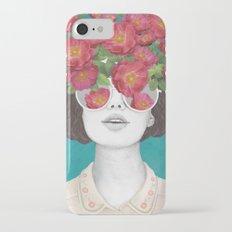 The optimist // rose tinted glasses Slim Case iPhone 7