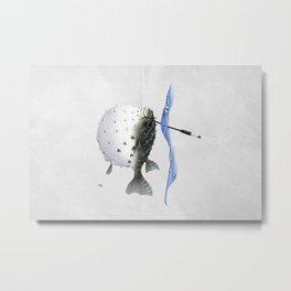 Take It Outside! (Wordless) Metal Print