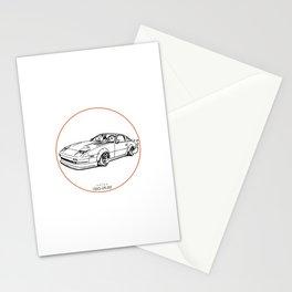 Crazy Car Art 0052 Stationery Cards