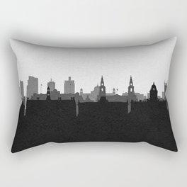 City Skylines: Leeds Rectangular Pillow