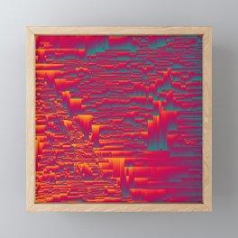 Aztec Sunset Framed Mini Art Print