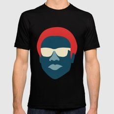 Donald MEDIUM Black Mens Fitted Tee