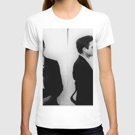 Johnny Cash Mug Shot Horizontal T-shirt
