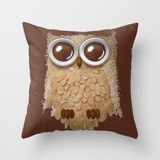 Owlmond 2 Throw Pillow