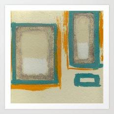 Soft And Bold Rothko Inspired - Modern Art Art Print