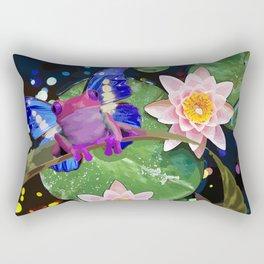 Amphibian Reborn Rectangular Pillow
