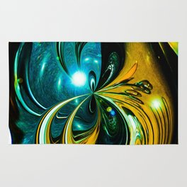 """""""Cosmic Abstraction"""" Rug"""