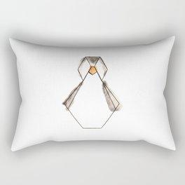 Pingouin Origami Rectangular Pillow