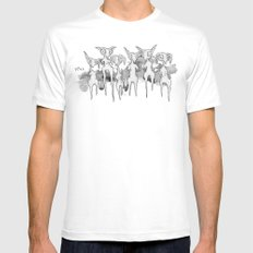 Lurkers MEDIUM Mens Fitted Tee White