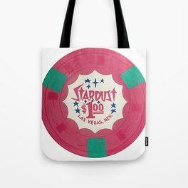 Stardust Pink - Casino Chip Series Tote Bag