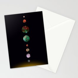 Another solar system Stationery Cards