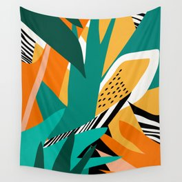 Jungle Abstract Wall Tapestry