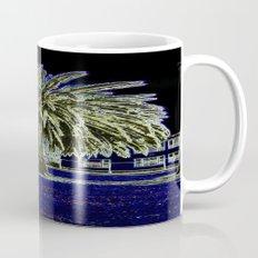 Magic night with Palm tree Mug