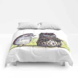 Hedgehog's here Comforters