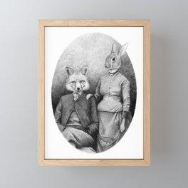 Couple II Framed Mini Art Print