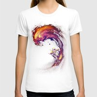 T-shirts featuring Space Surfing by nicebleed