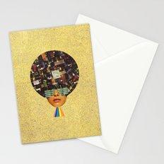 Rhythm is funky Stationery Cards