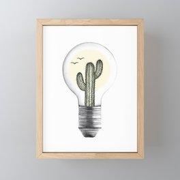 Desert Heat Framed Mini Art Print