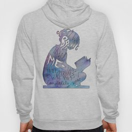 It was Books that Made me Feel Like I was Not Completely Alone Hoody