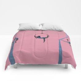 aerial dancing Comforters
