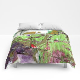 Green Earth Boundary Comforters