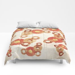 The past age of vinyl records. Comforters