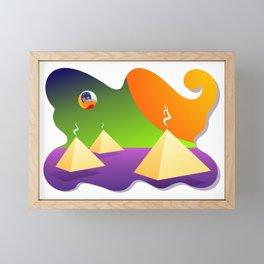 Extradimensional Travel Framed Mini Art Print