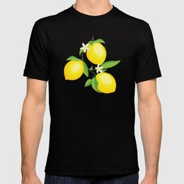 You're the Zest - Lemons on White T-shirt