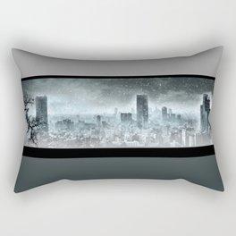 Nuclear winter, Apocalypse Rectangular Pillow