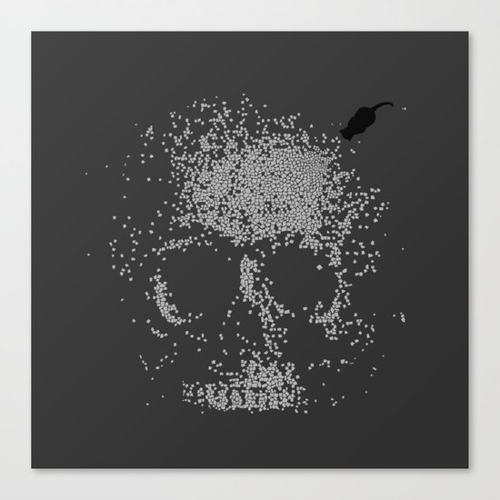 Sign of Death Canvas Print