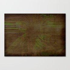 Electronic Canvas Print