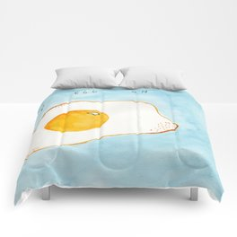 Put An Egg On It! Comforters