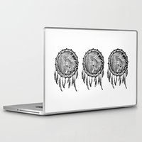 dream catcher Laptop & iPad Skins featuring Dream Catcher by Astrablink7